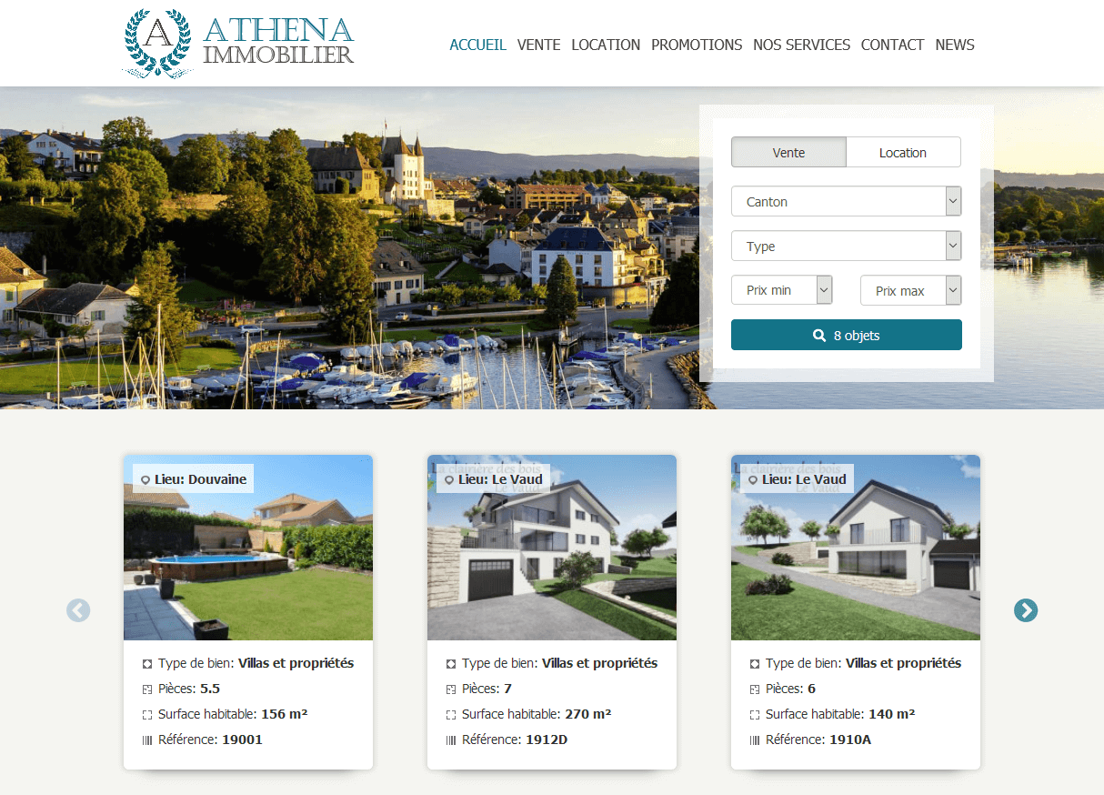 ATHENA IMMOBILIER